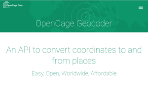 OpenCage Data join as a corporate member
