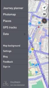 CycleStreets app screenshot 2