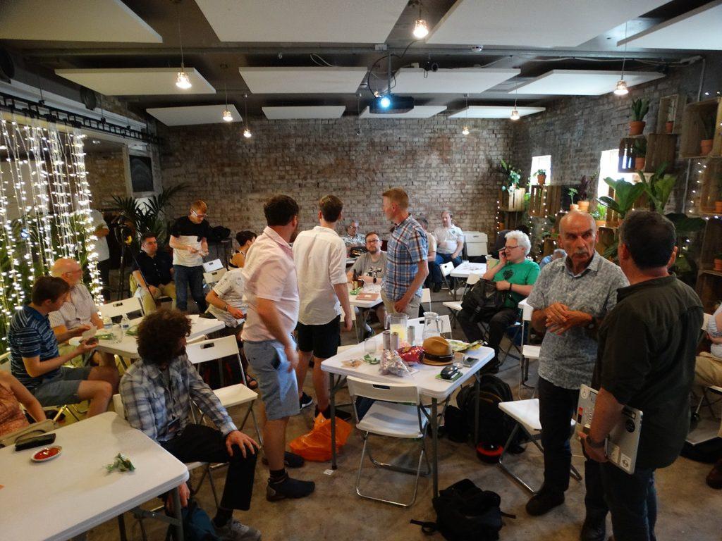 OpenStreetMappers gather in London